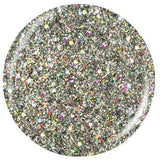 Ray-diant China Glaze Green 3D Holographic Glitter Nail Varnish