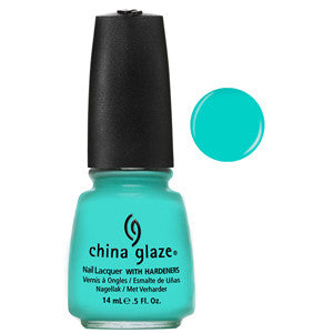 Aquadelic China Glaze Aqua Blue Nail Varnish