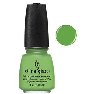Gaga for Green China Glaze Green Nail Varnish