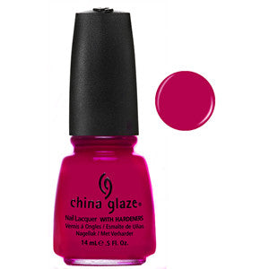 Fuchsia Fanatic China Glaze Fuchsia Nail Varnish