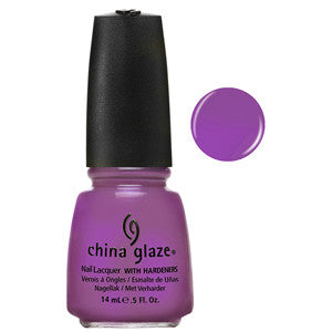 Gothic Lolita China Glaze Purple Shimmer Nail Varnish
