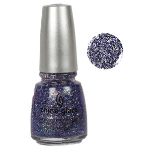 Marry A Millionaire China Glaze Purple Glitter Nail Varnish