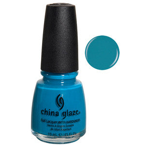 Shower Together China Glaze Aqua Blue Nail Varnish