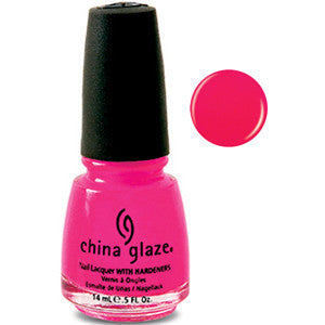 Rose Among Thorns China Glaze Neon Pink Nail Varnish
