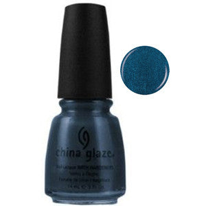 Rodeo Fanatic China Glaze Blue Green Shimmer Nail Varnish