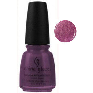 Lasso My Heart China Glaze Purple Shimmer Nail Varnish