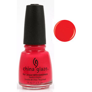 Sneaker Head China Glaze Orange Red Nail Varnish