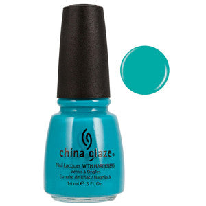 Flying High China Glaze Green Nail Varnish