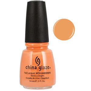 Peachy Keen China Glaze Peach Nail Varnish