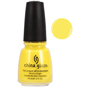 Happy Go Lucky China Glaze Yellow Nail Varnish