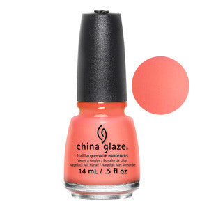 Flip Flop Fantasy China Glaze Neon Coral Nail Varnish