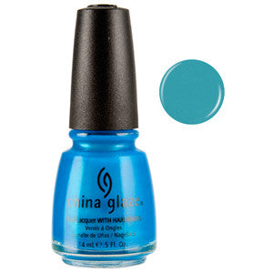 Towel Boy Toy China Glaze Neon Blue Shimmer Nail Varnish