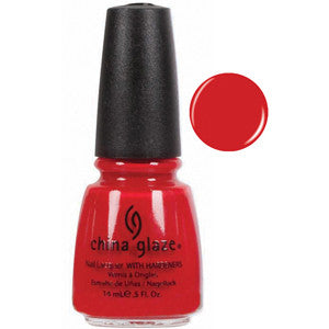 Hey Sailor China Glaze Red Nail Varnish