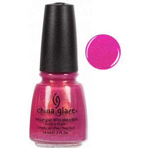 Ahoy China Glaze Deep Magenta Shimmer Nail Varnish