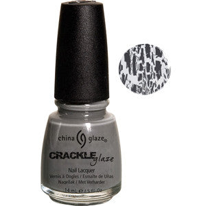 Cracked Concrete China Glaze Grey Crackle Nail Varnish
