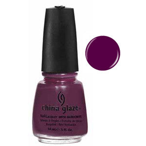 Urban Night China Glaze Dark Purple Nail Varnish