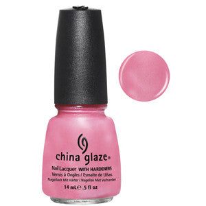 Exquisite China Glaze Pink Shimmer Nail Varnish