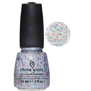 It's A Trap-eze China Glaze Glitter Nail Varnish