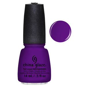 Creative Fantasy China Glaze Bright Neon Purple Nail Varnish