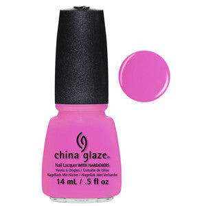 Bottoms Up China Glaze Pink Purple Neon Nail Varnish