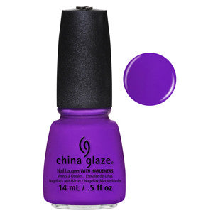 Are You Jelly China Glaze Purple Jelly Neon Nail Varnish