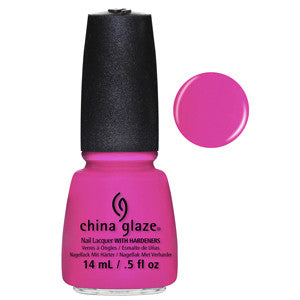 You Drive Me Coconuts China Glaze Neon Purple Jelly Nail Varnish
