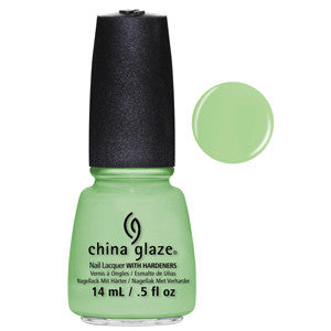 Highlight of My Summer China Glaze Neon Mint Green Nail Varnish