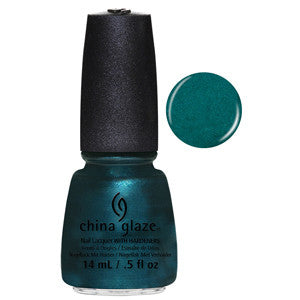 Tongue & Chic China Glaze Emerald Shimmer Nail Varnish