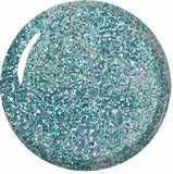 Sea Sprite Blue Green Glitter ProGel UV LED Gel Polish 14ml
