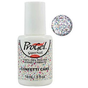 Confetti Cake Multi Glitter ProGel UV LED Gel Polish 14ml