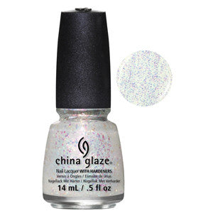 This Ones For You China Glaze Pink Specs Glitter Nail Varnish