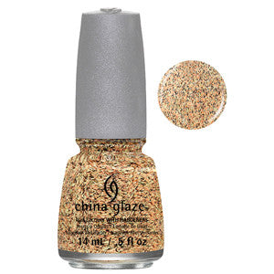You're A Hoot China Glaze Yellow, Orange & Black Feathered Finish Nail Varnish