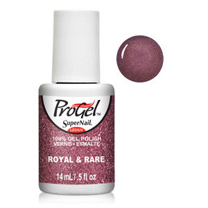 Royal & Rare Brown Purple Shimmer ProGel UV LED Gel Polish 14ml
