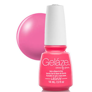 Shocking Pink Gelaze UV LED Gel Polish 14ml