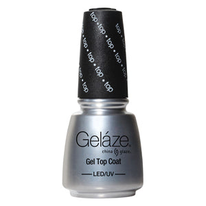 Top Coat Gelaze UV LED Gel Polish 14ml