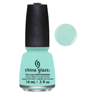 At Vase Value China Glaze Baby Blue Creme Nail Varnish