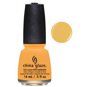 Metro Pollen-Tin China Glaze Creamsicle Orange Nail Varnish