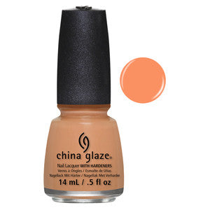 If In Doubt Surf it Out China Glaze Orange Nail Varnish