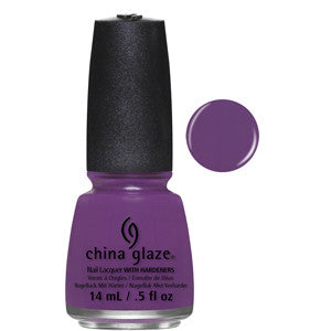 X-Ta-Sea China Glaze Purple Nail Varnish