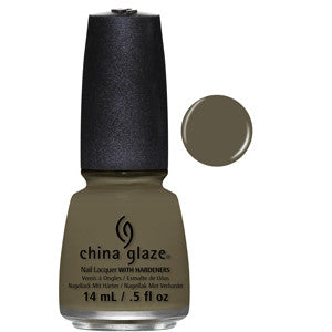 Don't Get Derailed China Glaze Elephant Grey Nail Varnish