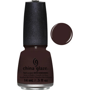 What Are You A Freight Of China Glaze Brown Nail Varnish