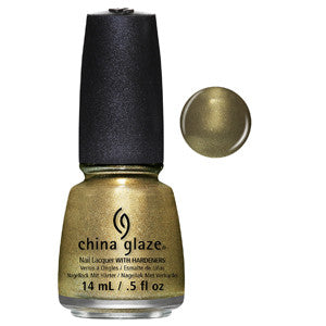 Mind The Gap China Glaze Olive Shimmer Nail Varnish
