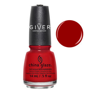 Seeing Red China Glaze Red Nail Varnish