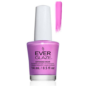 Ultra Orchid Everglaze Extender Wear Bright Pink Purple Nail Varnish