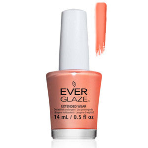 What A Peach Everglaze Extender Wear Peach Shimmer Nail Varnish