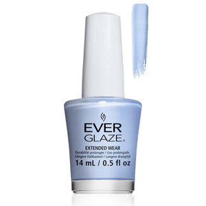 Breath of Fresh Air Everglaze Extender Wear Powder Blue Nail Varnish