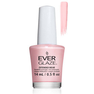Blush Much Everglaze Extender Wear Sheer PInk Shimmer Nail Varnish