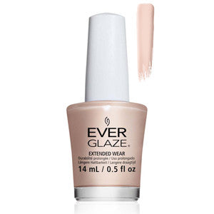 Cash-Merely There Everglaze Extender Wear Sheer Nude Nail Varnish