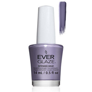 We Be Jammin Everglaze Extender Wear Powder Purple Nail Varnish