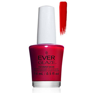 Bleeding Love Everglaze Extender Wear Cool Deep Red Nail Varnish